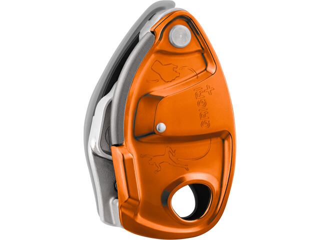 Petzl Grigri+ Belay Device, pomarańczowy/srebrny